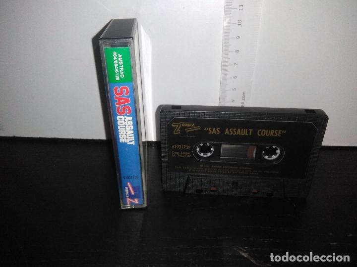 Videojuegos y Consolas: juego cinta cassette SAS ASSAULT COURSE amstrad - Foto 2 - 171847375