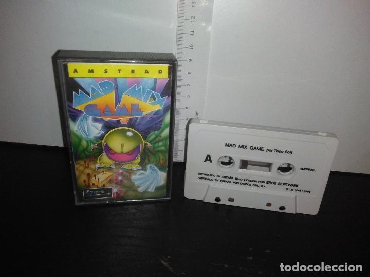 JUEGO CINTA CASSETTE MAD MIX GAME AMSTRAD (Juguetes - Videojuegos y Consolas - Amstrad)