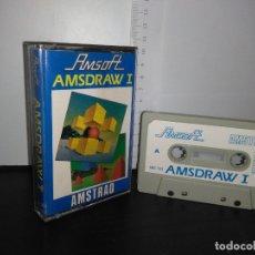 Videojuegos y Consolas: JUEGO CINTA CASSETTE AMSDRAW 1 AMSTRAD . Lote 171850705