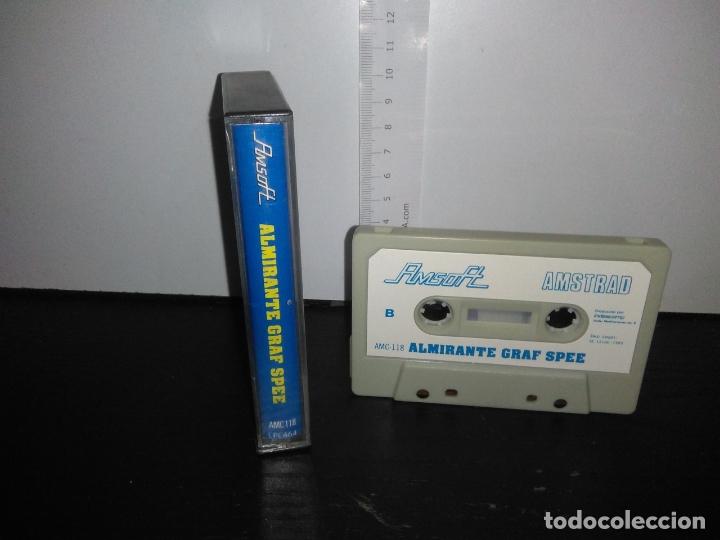 Videojuegos y Consolas: juego cinta cassette ALMIRANTE GRAF SPEE amstrad - Foto 2 - 171852272