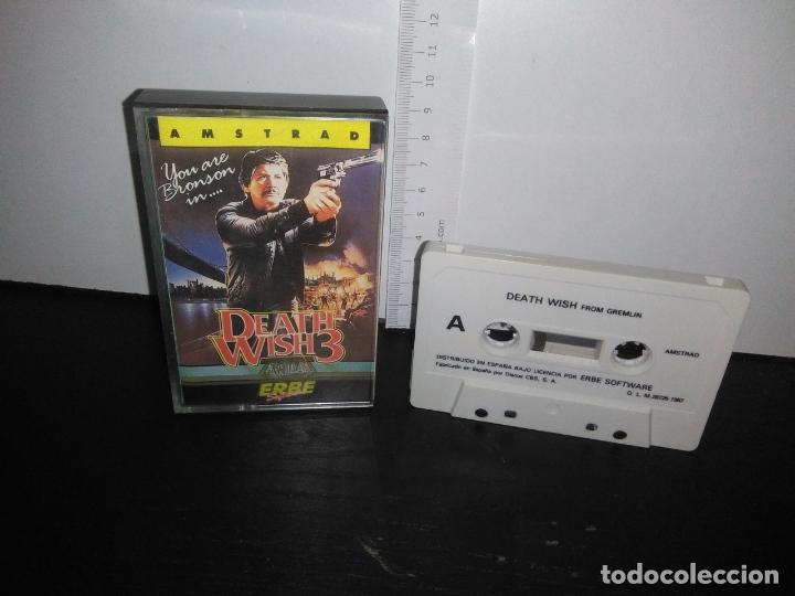 JUEGO CINTA CASSETTE DEATH WISH 3 AMSTRAD (Juguetes - Videojuegos y Consolas - Amstrad)