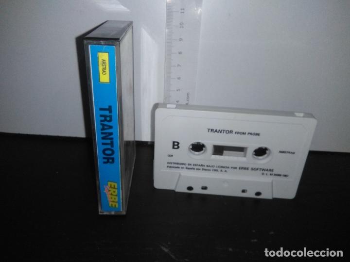 Videojuegos y Consolas: juego cinta cassette trantor amstrad - Foto 2 - 171932848