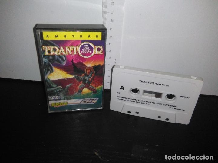 JUEGO CINTA CASSETTE TRANTOR AMSTRAD (Juguetes - Videojuegos y Consolas - Amstrad)