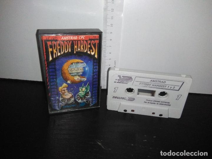 JUEGO CINTA CASSETTE FREDDY HARDEST AMSTRAD (Juguetes - Videojuegos y Consolas - Amstrad)