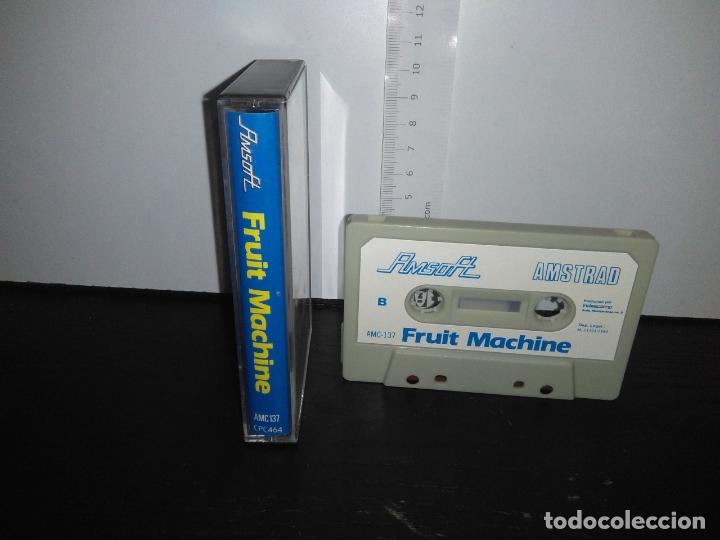 Videojuegos y Consolas: juego cinta cassette fruit machine amstrad - Foto 2 - 171935878