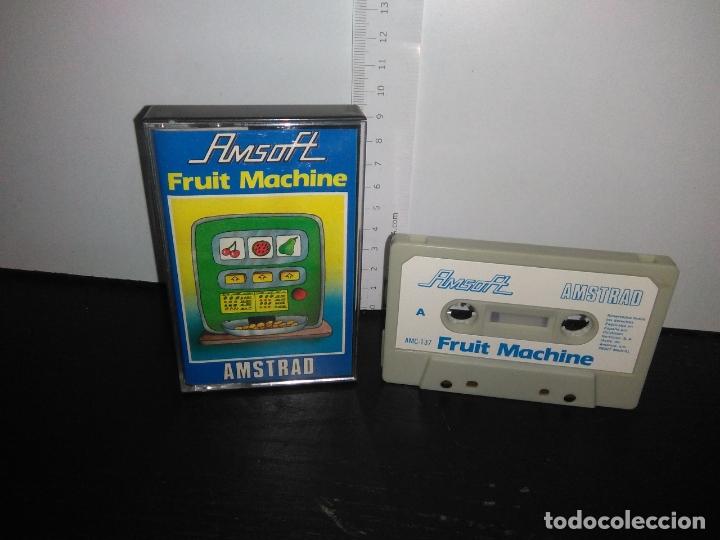 JUEGO CINTA CASSETTE FRUIT MACHINE AMSTRAD (Juguetes - Videojuegos y Consolas - Amstrad)