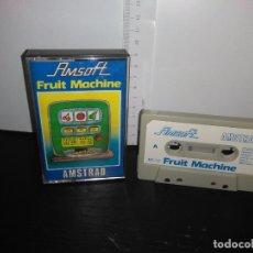 Videojuegos y Consolas: JUEGO CINTA CASSETTE FRUIT MACHINE AMSTRAD. Lote 171935878