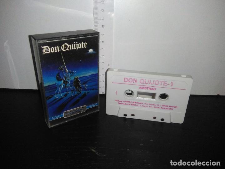 JUEGO CINTA CASSETTE DON QUIJOTE AMSTRAD (Juguetes - Videojuegos y Consolas - Amstrad)