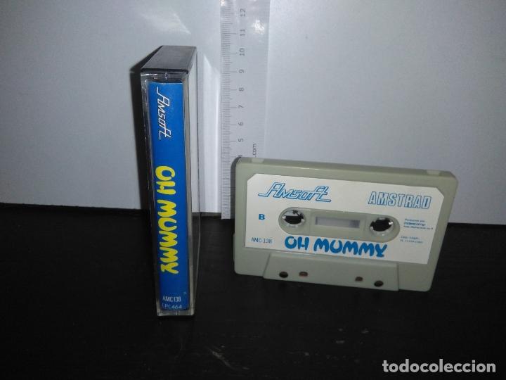 Videojuegos y Consolas: juego cinta cassette oh mummy amstrad - Foto 2 - 171938257