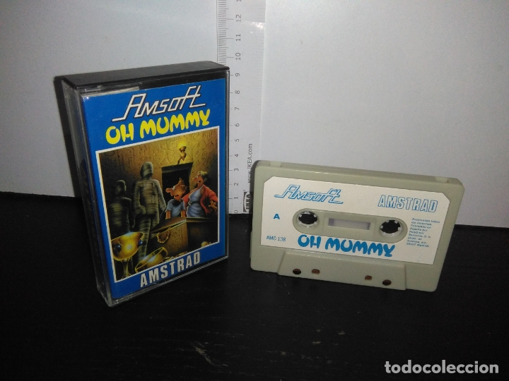 JUEGO CINTA CASSETTE OH MUMMY AMSTRAD (Juguetes - Videojuegos y Consolas - Amstrad)