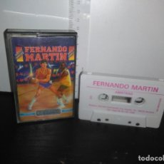 Videojuegos y Consolas: JUEGO CINTA CASSETTE FERNANDO MARTIN AMSTRAD. Lote 171940077