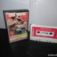 Videojuegos y Consolas: JUEGO CINTA CASSETTE COSA NOSTRA AMSTRAD. Lote 171942539
