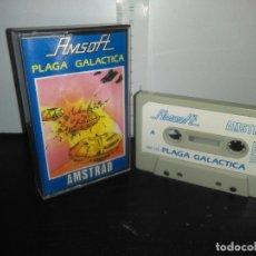 Videojuegos y Consolas: JUEGO CINTA CASSETTE PLAGA GALACTICA AMSTRAD. Lote 171947363