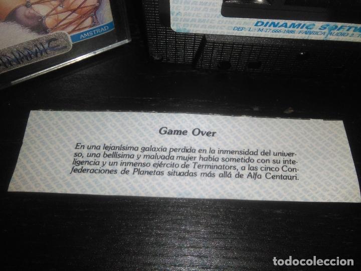 Videojuegos y Consolas: juego cinta cassette game over amstrad - Foto 2 - 171948578