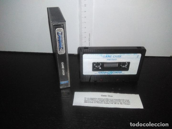 Videojuegos y Consolas: juego cinta cassette game over amstrad - Foto 3 - 171948578