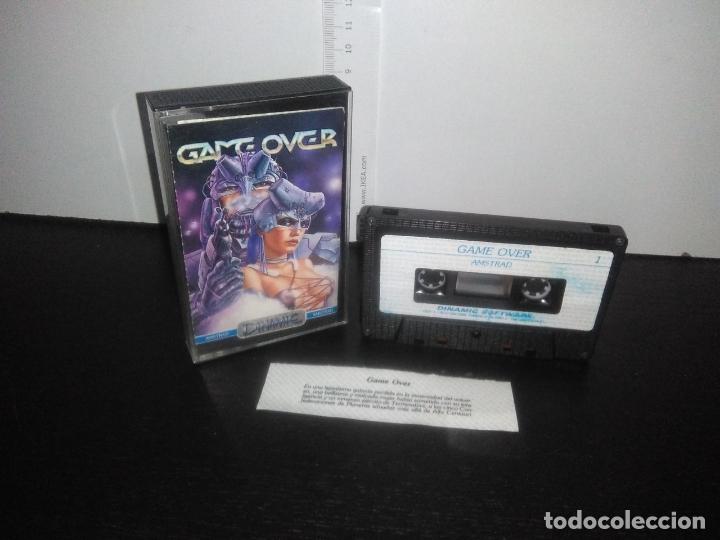 JUEGO CINTA CASSETTE GAME OVER AMSTRAD (Juguetes - Videojuegos y Consolas - Amstrad)