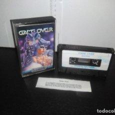 Videojuegos y Consolas: JUEGO CINTA CASSETTE GAME OVER AMSTRAD. Lote 171948578