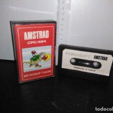 Videojuegos y Consolas: JUEGO CINTA CASSETTE DRAGON'S GOLD AMSTRAD. Lote 171965017