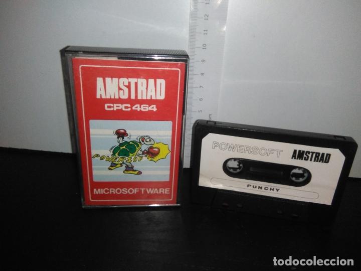 JUEGO CINTA CASSETTE PUNCHY AMSTRAD (Juguetes - Videojuegos y Consolas - Amstrad)