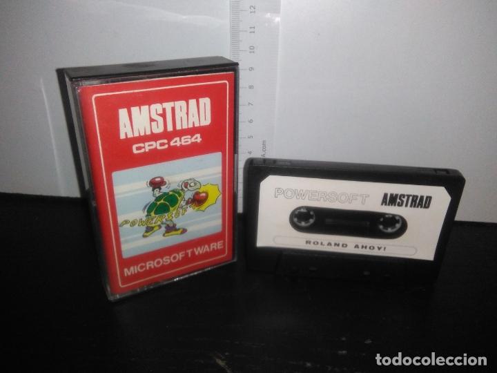 JUEGO CINTA CASSETTE ROLAND AHOY AMSTRAD (Juguetes - Videojuegos y Consolas - Amstrad)