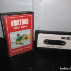 Videojuegos y Consolas: JUEGO CINTA CASSETTE ROLAND AHOY AMSTRAD. Lote 171965605