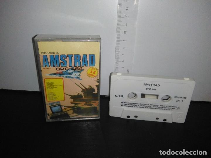 JUEGO CINTA CASSETTE TODO SOBRE EL AMSTRAD (Juguetes - Videojuegos y Consolas - Amstrad)