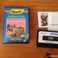 Videojuegos y Consolas: DEFEND OF DIE. AMSTRAD. Lote 172177910