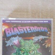 Videojuegos y Consolas: BLASTEROIDS-AMSTRAD CASSETTE-MIRRORSOFT LTD-AÑO 1989-ESTUCHE MEDIANO-ED.ESPECIAL-INCLUYE CASTELLANO. Lote 173017559