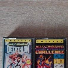 Videojuegos y Consolas: PACK DALEY THOMPSON'S-DECATHLON Y OLYMPIC CHALLENGE 88-AMSTRAD CASSETTE-OCEAN-AÑOS 1985-1988.. Lote 173047769