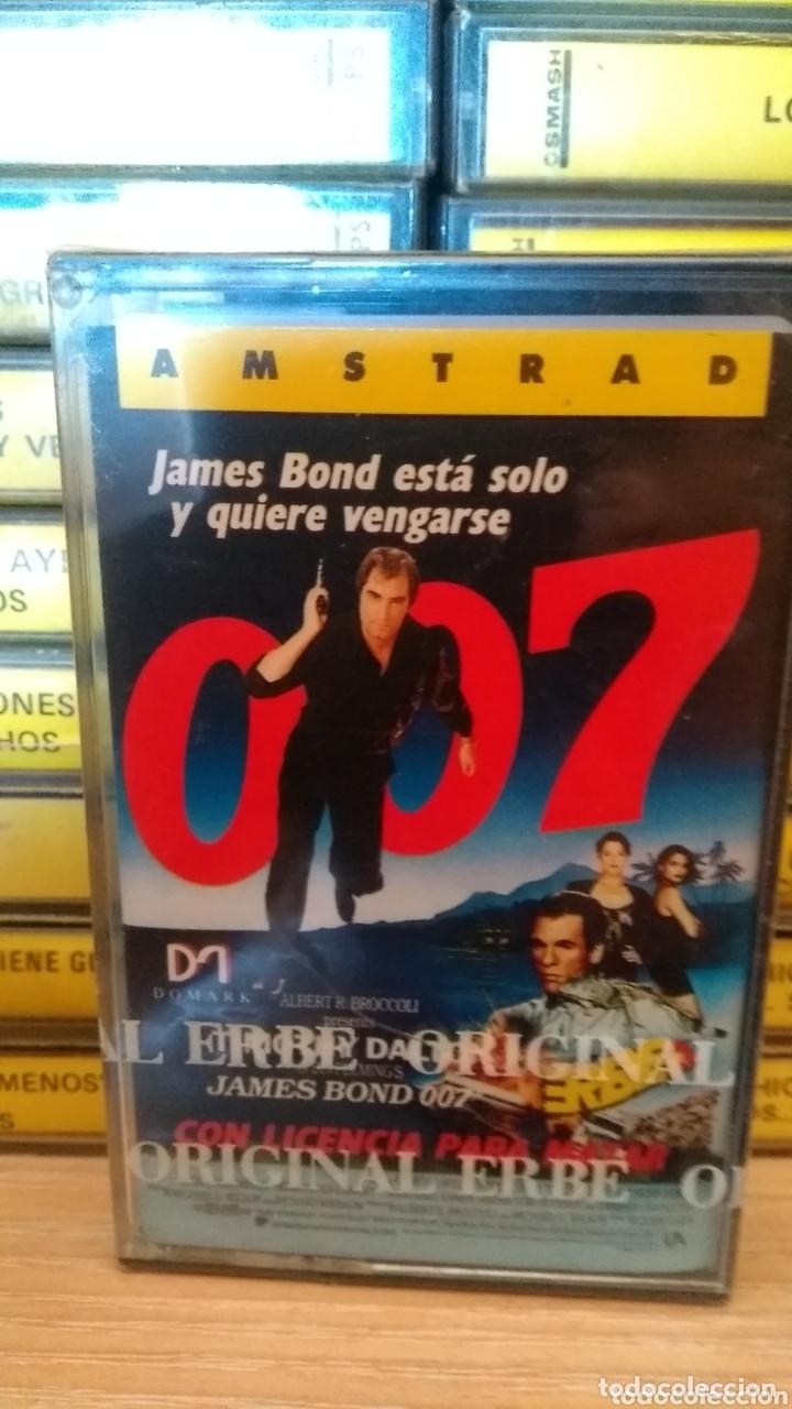 JAMES BOND AMSTRAD NUEVO PRECINTADO (Juguetes - Videojuegos y Consolas - Amstrad)