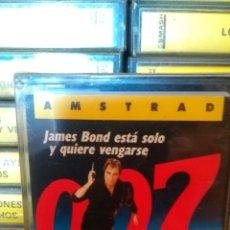 Videojuegos y Consolas: JAMES BOND AMSTRAD NUEVO PRECINTADO. Lote 173195853