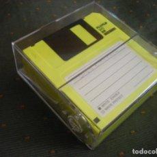 Videojuegos y Consolas: FUJIFILM DISKETTES 3.5 FORMATEADOS Y USADOS CON CAJA DE PLASTICO. Lote 173575967