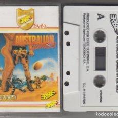 Videogiochi e Consoli: VIDEOJUEGO AUSTRALIAN GAMES CASSETTE AMSTRAD 1990 ERBE. Lote 174266182