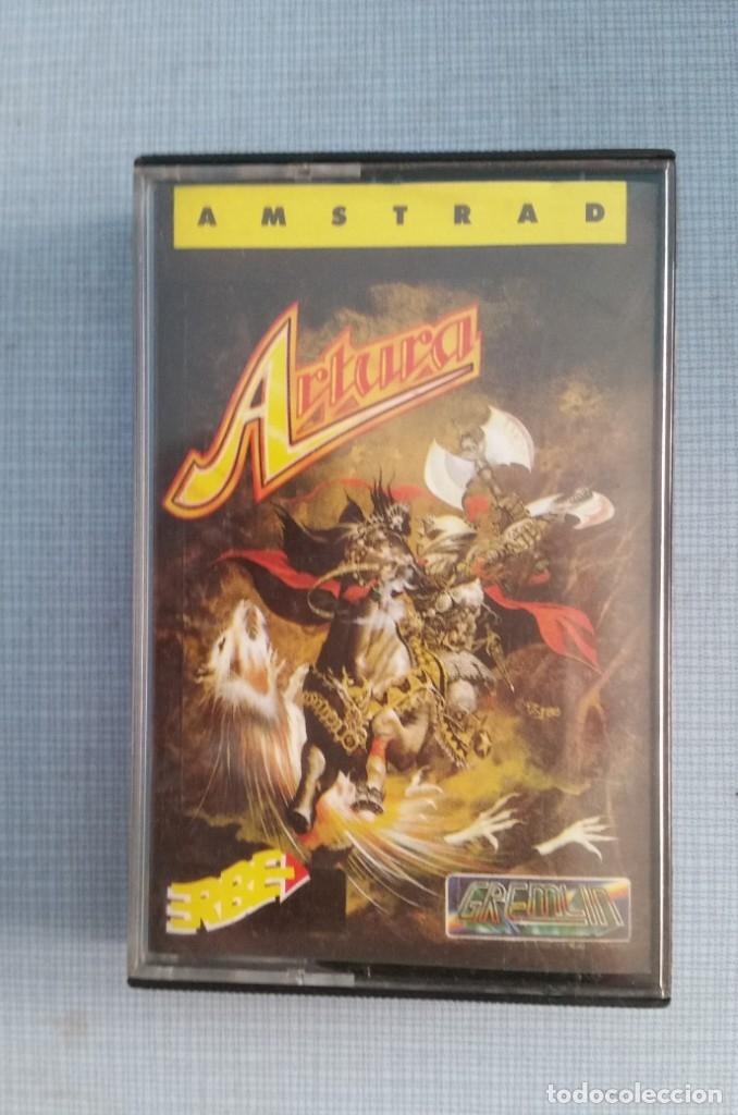 JUEGO AMSTRAD ARTURA (Juguetes - Videojuegos y Consolas - Amstrad)