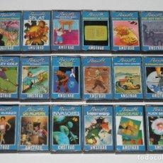 Videojuegos y Consolas: LOTE 18 JUEGOS EN FORMATO CASSETTE AMSTRAD RETROGAME. S_N. Lote 175219430