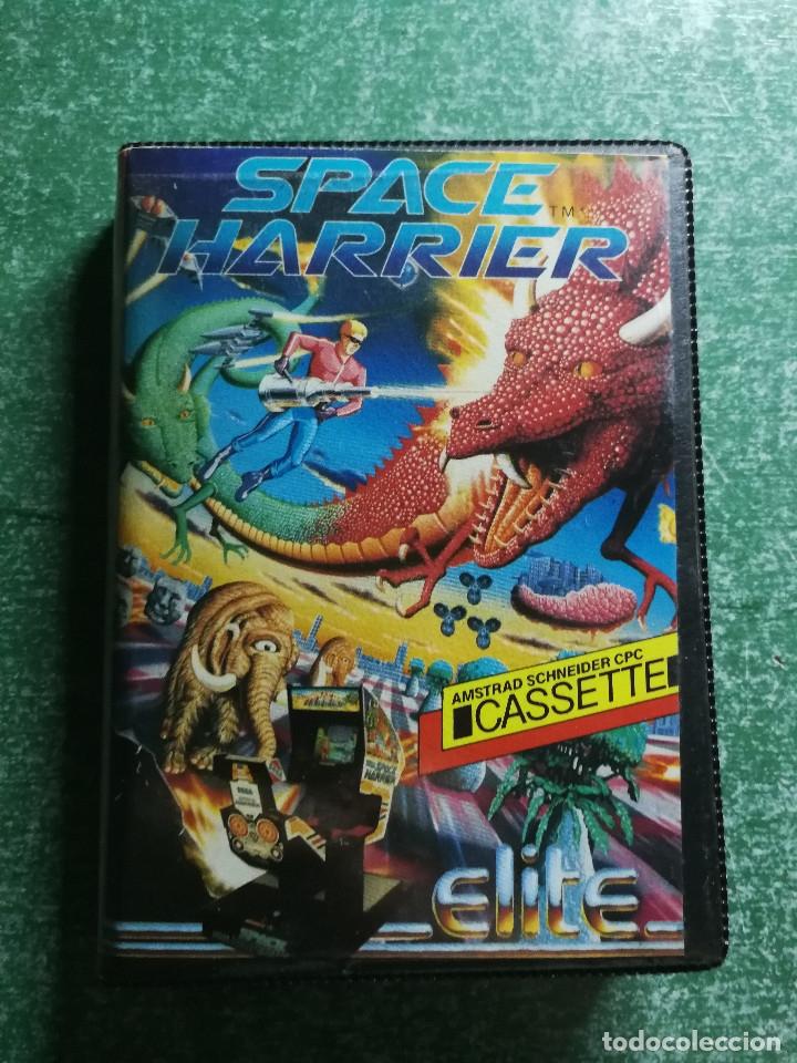 JUEGO AMSTRAD ' SPACE HARRIER ' - CINTA CASSETTE (Juguetes - Videojuegos y Consolas - Amstrad)