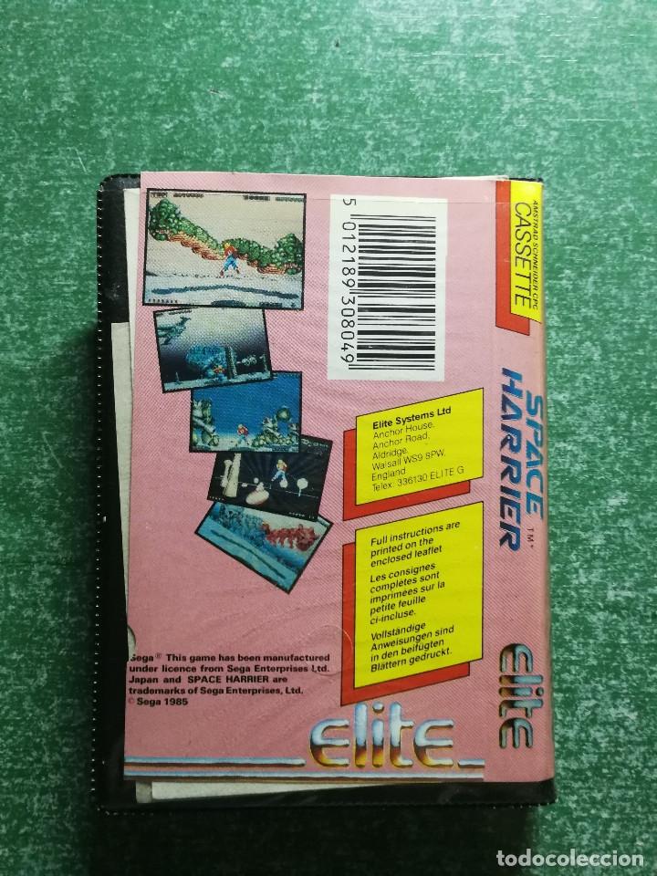 Videojuegos y Consolas: JUEGO AMSTRAD SPACE HARRIER - CINTA CASSETTE - Foto 4 - 175325549