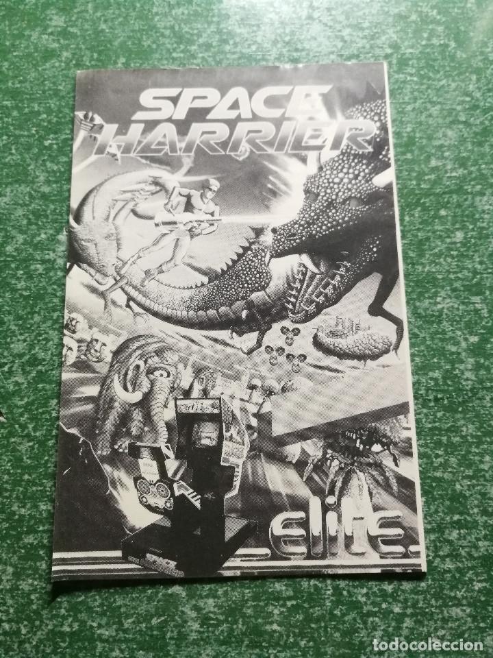 Videojuegos y Consolas: JUEGO AMSTRAD SPACE HARRIER - CINTA CASSETTE - Foto 5 - 175325549