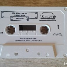 Videojuegos y Consolas: SITO PONS 500 CC.GRAND PRIX-AMSTRAD CASSETTE-ZIGURAT-AÑO 1990-SÓLO CASSETTE.BUEN ESTADO.. Lote 175441192