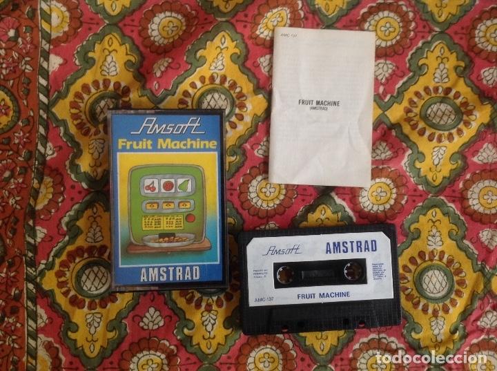 FRUIT MACHINE. AMSTRAD (Juguetes - Videojuegos y Consolas - Amstrad)
