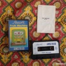 Videojuegos y Consolas: FRUIT MACHINE. AMSTRAD . Lote 175501025