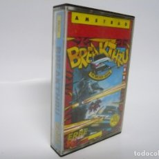 Videojuegos y Consolas: BREAKTHRU DE ERBE / AMSTRAD CPC 464 - 6128 / RETRO VINTAGE / CASSETTE - CINTA / CLÁSICO. Lote 175724760