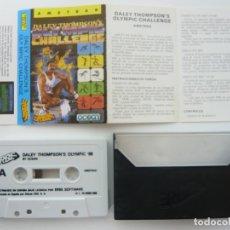 Videojuegos y Consolas: DALEY THOMSON'S DE ERBE / AMSTRAD CPC 464 - 6128 / RETRO VINTAGE / CASSETTE - CINTA / CLÁSICO. Lote 175724782