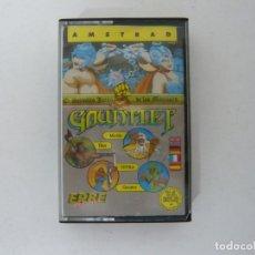 Videojuegos y Consolas: GAUNTLET DE ERBE / AMSTRAD CPC 464 - 6128 / RETRO VINTAGE / CASSETTE - CINTA / CLÁSICO. Lote 175724802