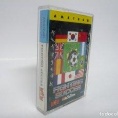 Videojuegos y Consolas: FIGHTING SOCCER DE MCM / AMSTRAD CPC 464 - 6128 / RETRO VINTAGE / CASSETTE - CINTA / CLÁSICO. Lote 175724892