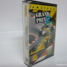 Videojuegos y Consolas: GRAND PRIX 2 SIMULATOR / AMSTRAD CPC 464 - 6128 / RETRO VINTAGE / CASSETTE - CINTA / CLÁSICO. Lote 175724939