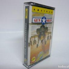 Videojuegos y Consolas: OPERATION GUNSHIP / AMSTRAD CPC 464 - 6128 / RETRO VINTAGE / CASSETTE - CINTA / CLÁSICO. Lote 175724969