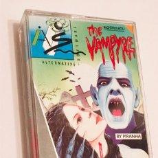Videojuegos y Consolas: NOSFERATU THE VAMPYRE [PIRANHA] 1986 ALTERNATIVE SOFTWARE [AMSTRAD CPC]. Lote 176920417