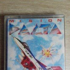 Videojuegos y Consolas: MISIÓN DELTA-AMSTRAD CASSETTE-ZAFIRO SOFTWARE DIVISION-AÑO 1988-IMPECABLE-MUY MUY DIFÍCIL.. Lote 178256960