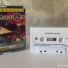 Videojuegos y Consolas: TRANTOR AMSTRAD COMPLETO. Lote 178347281